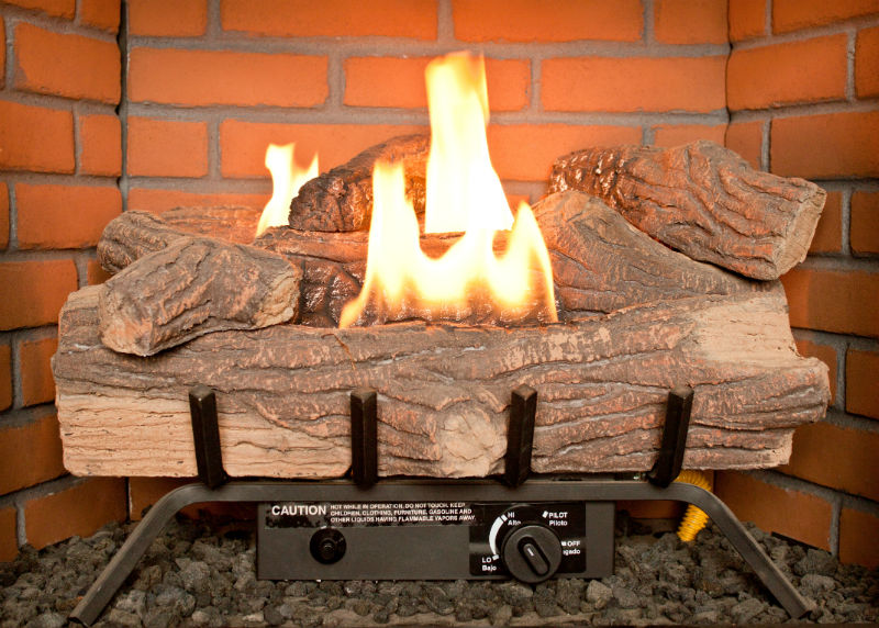 Gas Fireplaces and Gas Logs Tips - Atlanta GA - Old Hat