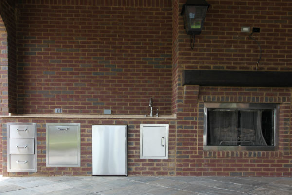 Planning Your Outdoor Kitchen And Fireplace Atlanta Ga
