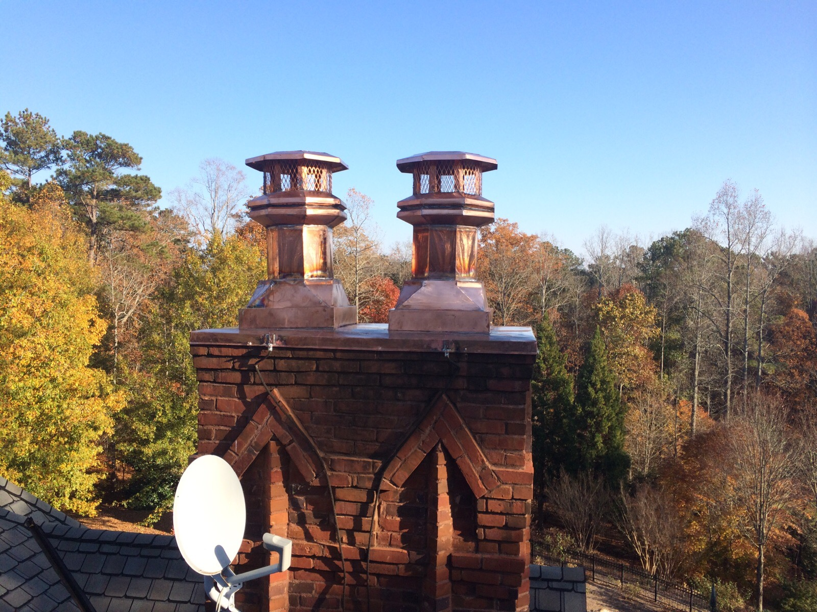 Chimney Restoration and Custom Caps