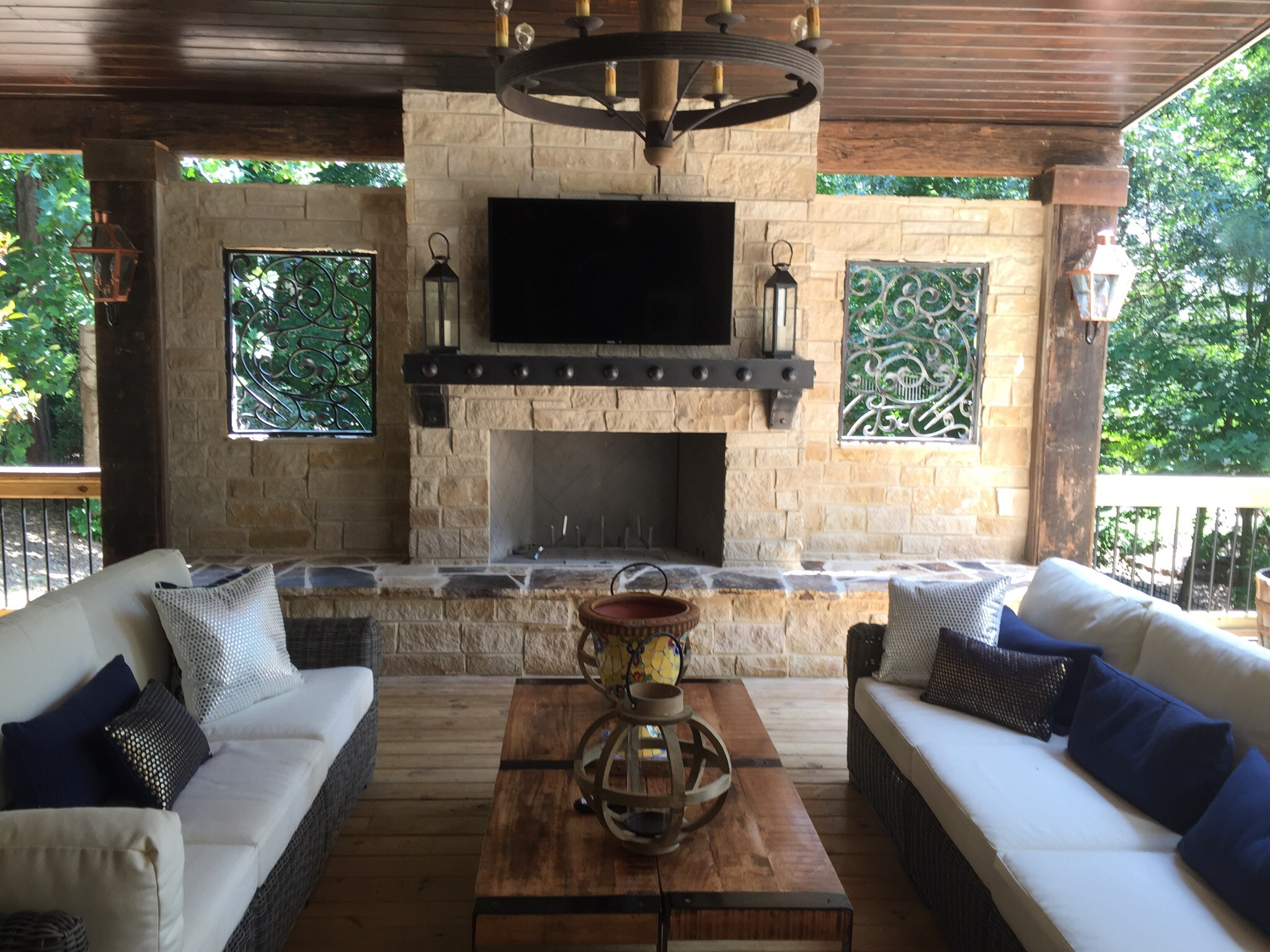 Old Hat Chimney Service can make your outdoor living space dreams come true! We install quality products & our certified technicians provide reliable service.